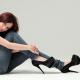 Fashion Trends-Cómo elegir los zapatos de tacones más adecuados-Mujer con tacones altos