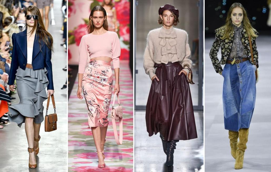 Fashion Trends-Escoge el tipo de falda que mejor luzca en tu silueta-Modelos con faldas