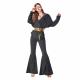 Fashion Trends-Los pantalones acampanados están de regreso-Modelo con pantalones acampanados