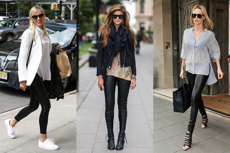 Fashion Trends MX - Leggins de cuero - Portada